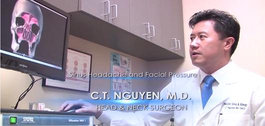 Sinus Headache & Facial Pressure with Head & Neck Surgeon Dr. CT Nguyen