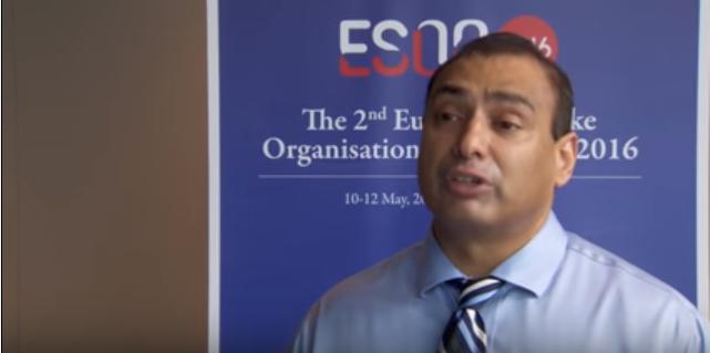 ESOC 2016 – ATTACH II study – Prof. Urs Fischer interviews Prof. Adnan Qureshi