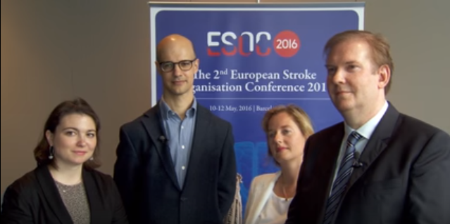 ESOC 2016 – PATCH study – Prof. Martin Dichgans interviews Professors Roos, Al-Shahi, and Cordonnier