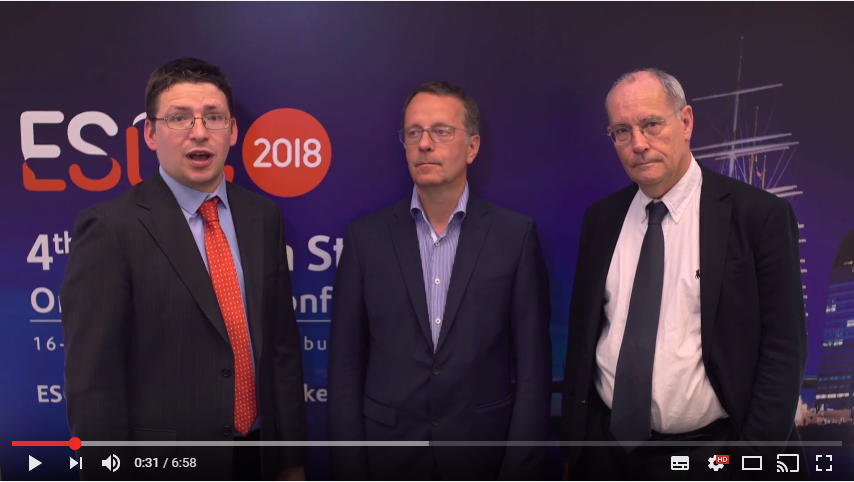 ESOC 2017 – Burden of Stroke Report – Alistair Webb interviews Markus Wagner and Bo Norrving