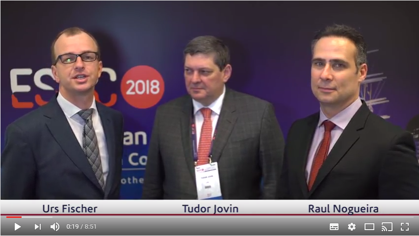 ESOC 2017 – Tudor Jovin and Raul Nogueira talk about the DAWN trial