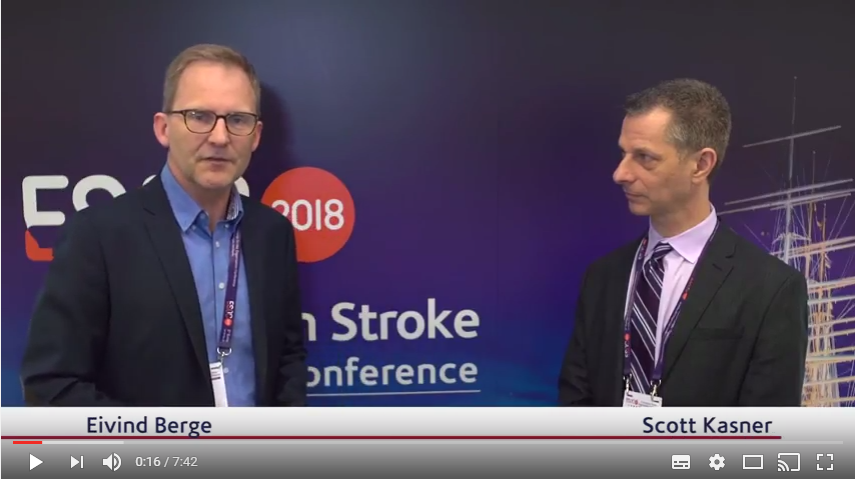 ESOC 2017 – Scott Kasner talks about the GORE REDUCE trial