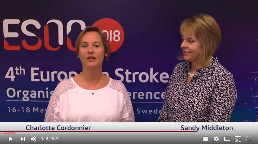 ESOC 2017 – Sandy Middleton talks about the T3 trial