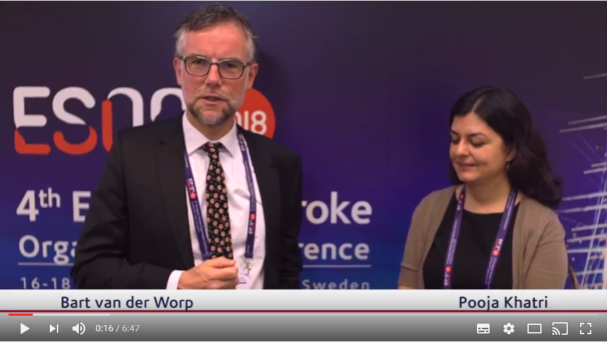 ESOC 2017 – Pooja Khatri talks about the VISTA trial