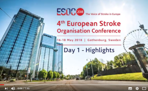 ESOC 2018 – Day 1 – Highlights