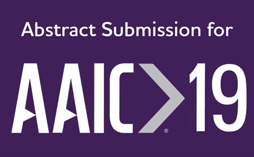 AAIC 2019: Abstract submission