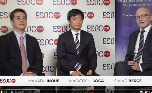 Masatoshi Koga & Manabu Inoue, ESOC 2019 – THAWS trial