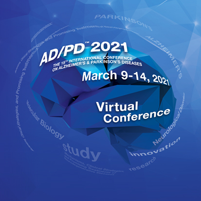 15th International Conference on Alzheimer's and Parkinson's Diseases – AD/PD™ 2021