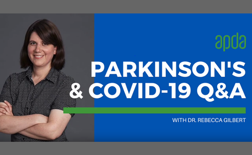 APDA – Parkinson's and COVID-19 Q&A